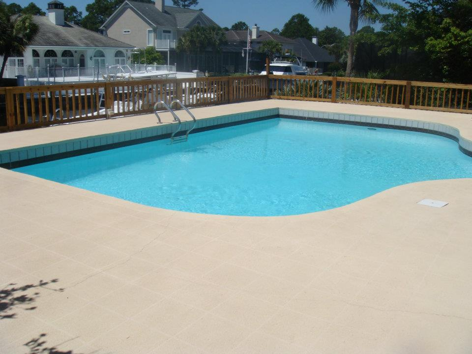 Cool Concrete By Up To 50f With A Concrete Stain