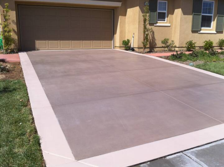 Concrete Stain Remover >> Solid Color Concrete Stain - Restore Faded Concrete or Maintain Concrete