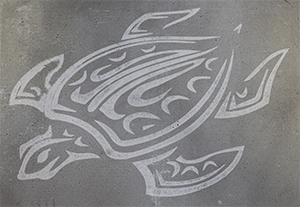Etched-Turtle