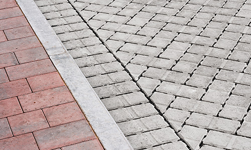 Oil & Dirt on Pavers