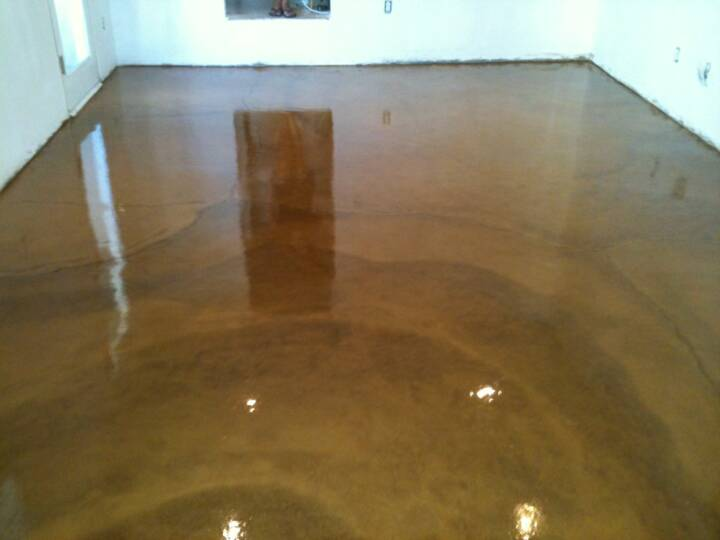 dark brown stained concrete floors. Flooring For A Bat Concrete Floor  Designs Stunning How To Stain Indoors Ideas Interior Design
