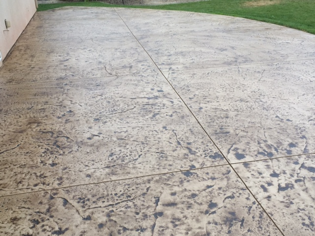 How to Restore a Stamped Concrete Patio